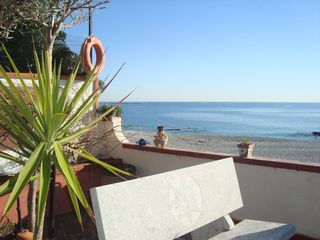Reggio Calabria City villa photo - beach in October