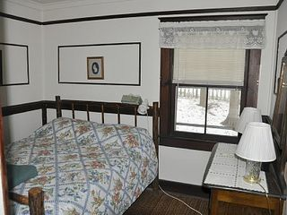 Brant Lake house photo - One of Two Guest House Bedrooms