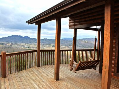 Wrap Around Deck - Overlooking Wears Valley