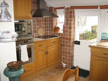 Kitchen in Croft Cottage