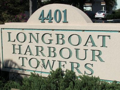 Welcome to Longboat Harbour Towers, a waterfront property on Longboat Key.