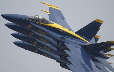 Your Visit To The Area Would Not Be Complete Without Watching the Blue Angels.