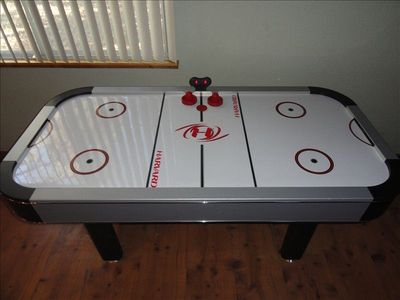 """Harvard"" Air Hockey 6-foot game table for all ages of family fun"