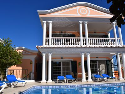 Exclusive villa, close to the beach, heatable pool, WiFi, aircondition