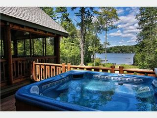 Moultonborough house photo - Outside Hot tub