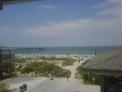 Summer view at Wrightsville Beach