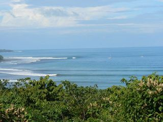 Playa Zancudo house photo - Pilon Point from our deck!! No Surf Report Needed