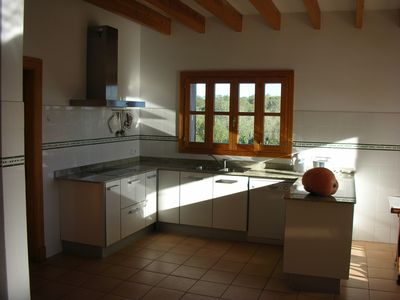 Son Serra de Marina villa rental - KITCHEN