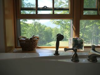 Ascutney house photo - view from the soaking tub