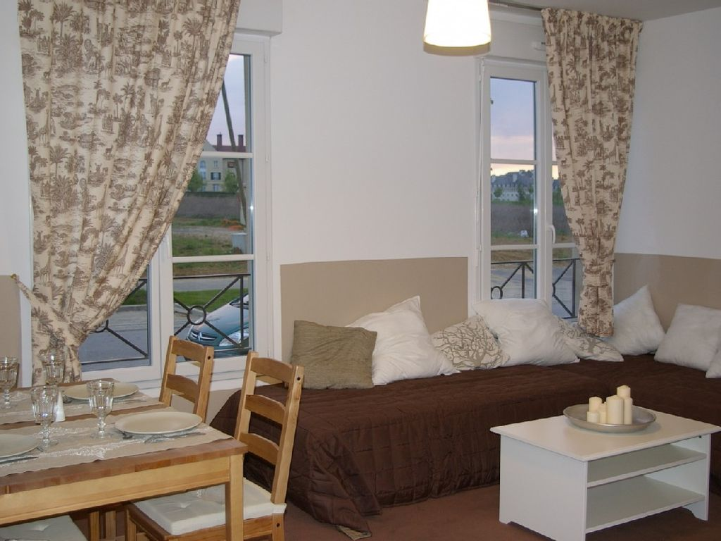 Accommodation near the beach, 38 square meters,