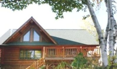BayPoint Lakeside Handcrafted Log Home (Built 2004).  Come visit in tranquility.