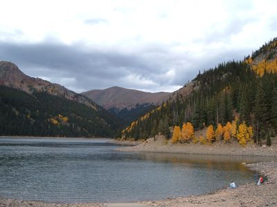 Jefferson Lake, a short, scenic drive to the Continental Divide.