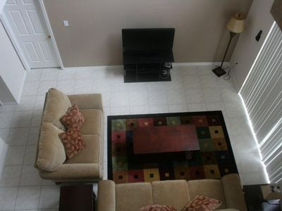 Family room from 2nd floor