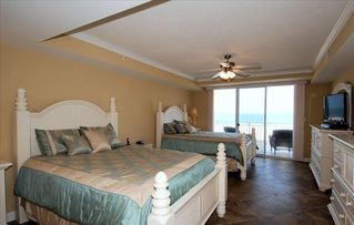 Oceans Mist Ocean City condo photo - Master suite leads to the balcony