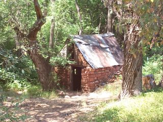 Sedona cottage photo - The ole spring house of the pioneer days along the back road.
