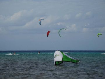 Try your hand at Kite surfing