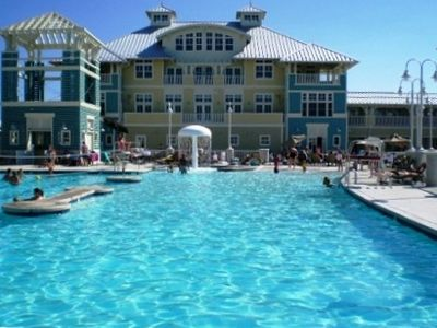 Sunset Island Ocean City house rental - Clubhouse w/ gym, indoor and outdoor pool @ Bay Beach