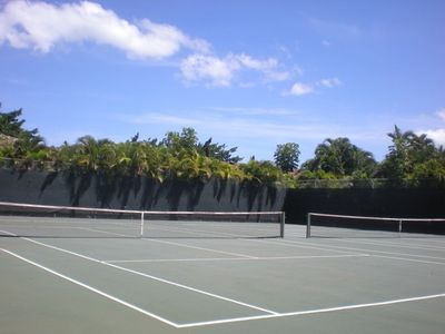 Tennis Anyone? Beautiful courts.