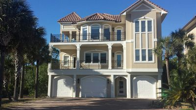 St George Island Florida Panhandle Vacation House Rental 5 Bed Southern Star Across From