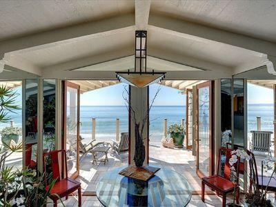 Ocean breezes waft thru the French doors of our villa