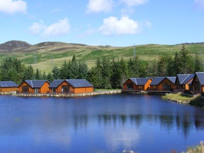 Waterfront lodges in heart of beautiful perthshire