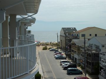 Ocean City condo rental - Balcony View of the Beach -- Oceanside