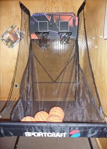 Enjoy our new arcade-style basketball game!