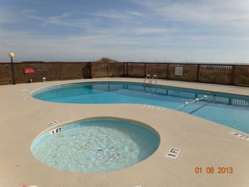 Windy Hill condo rental - Ocean front pool and hot tub
