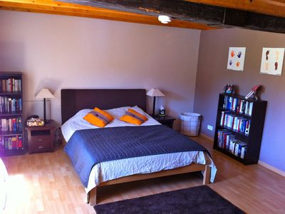 Saint-Malo-en-Donziois farmhouse rental - Bedroom 1