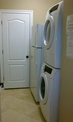 Emerald Shores house photo - Front load Washer Dryer plus 2nd Fridge