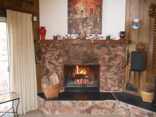 Lake Arrowhead house photo - Toasty!