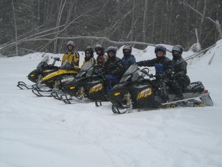 Pagosa Springs house photo - A Group of Friends From Texas Rented Snowmobiles and Had a Wonderful Time
