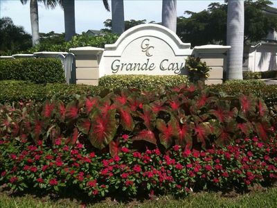 Entrance to Grande Cay Community