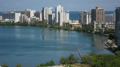 View of the Condado Lagoon from the North Facing Terrace1