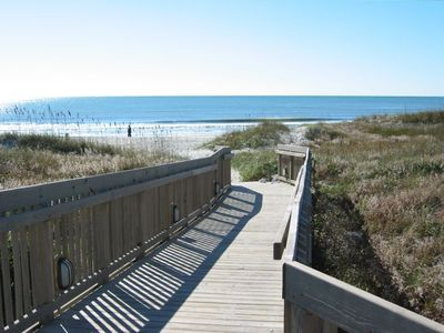 Your gateway to the Beach is literally just steps away from this Condo unit!