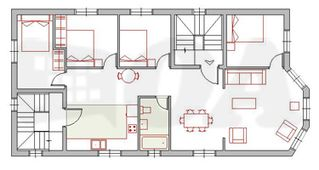 Chicago condo photo - Floor Plan for Unit 2