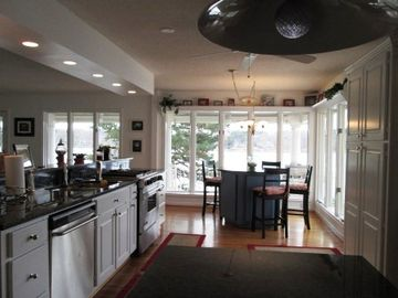Seneca house rental - As you walk into the house you will enter the kitchen and the first view lake