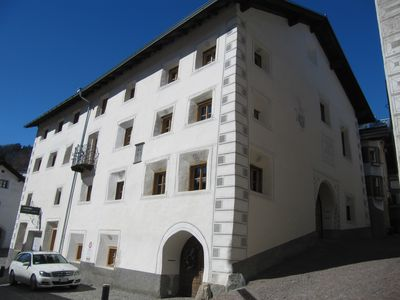 Apartment in historic home of the lower Engadine Valley