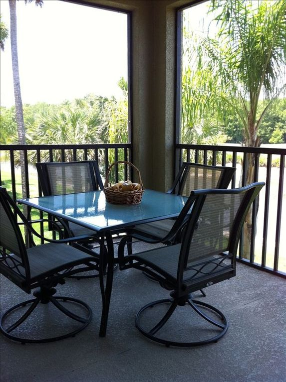 Heritage Bay condo rental - Casual dining with great sunset views