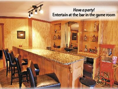 Play a game of pool or have a movie night and enjoy big screen TV!