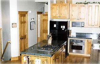 Hardwood maple floors and granite counters are just some of the many features