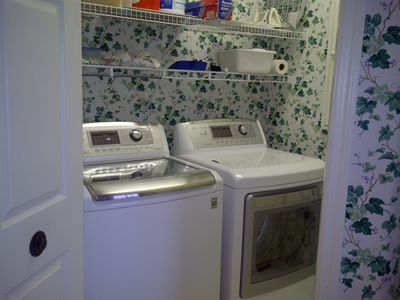 New washer/dryer.