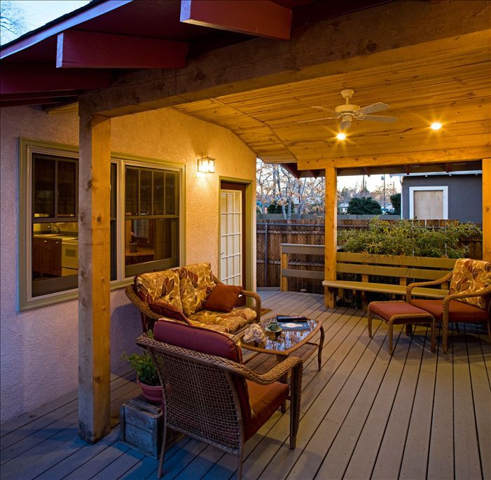 Albuquerque studio rental - Entry Deck