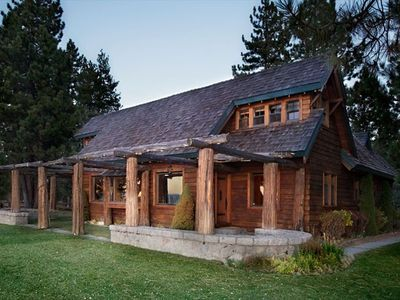 LAKE TAHOE LAKEFRONT HISTORIC ESTATE - 'TWIN PINES' - Twin Pines Exterior