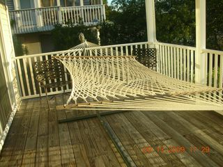 South Bethany Beach house photo - Hammock on Covered Porch for Relaxing in any Weather