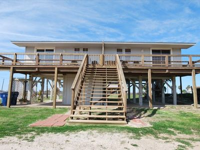 Hideout Surfside: See and hear the ocean from the 2nd row deck!
