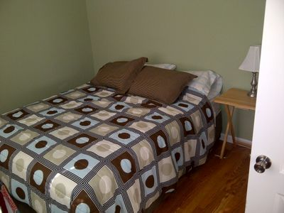 queen bed in second bedroom. sleeps 2