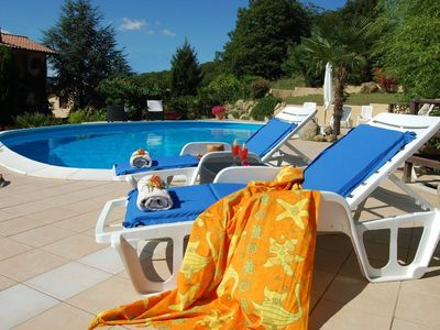 Holiday House for rent in Italy at Vico Lake in Lazio