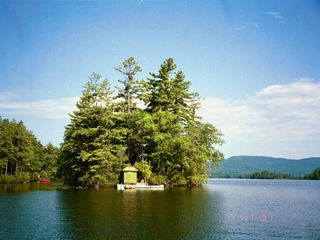 Squam Lake house photo - view of one of the islands nearby