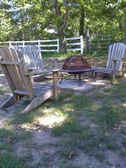 Eastham house photo - Fire pit